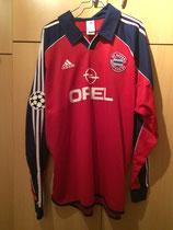 99/00 Champions League home Spielertrikot von Stefan Effenberg vorne