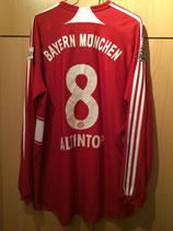 07/08 Bundesliga home Spielertrikot von Hamit Altıntop hinten