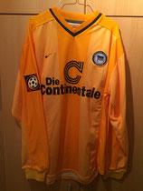 1999/2000 Bundesliga Away Spielertrikot von Thomas Helmer vorne