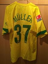 2005/2006 Bundesliga Away Spielertrikot von Christian Müller hinten