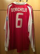 03/04 Champions League home Spielertrikot von Martin Demichelis hinten