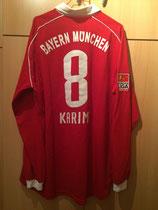 05/06 Bundesliga home Spielertrikot von Ali Karimi hinten