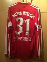 10/11 München 2018 Candidade City Spielertrikot von Bastian Schweinsteiger hinten