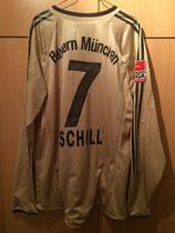 05/06 Bundesliga away Spielertrikot von Mehmet Scholl hinten