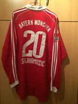 05/06 Bundesliga home Spielertrikot von Hasan Salihamidzic hinten