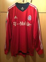 02/03 Bundesliga Derby Spielertrikot von Michael Ballack vorne