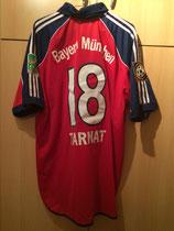 99/00 Bundesliga home Bewerbung WM 2006 Spielertrikot von Michael Tarnat hinten