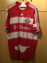 08/09 Bundesliga home Spielertrikot von Luca Toni vorne