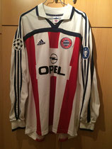 01/02 Champions League away Spielertrikot von Stefan Effenberg vorne