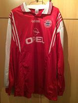 97/98 Bundesliga Derby Spielertrikot von Alexander Zickler vorne