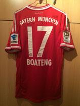 13/14 Bundesliga home Spielertrikot von Jérôme Boateng vorne