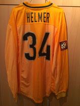 1999/2000 Bundesliga Away Spielertrikot von Thomas Helmer hinten