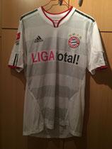 11/12 Bundesliga away Spielertrikot von Rafinha vorne