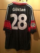 98/99 Champions League home Spielertrikot von Berkant Göktan hinten
