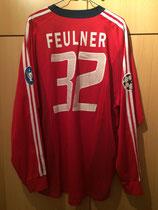 02/03 Champions League Spielertrikot von Markus Feulner hinten