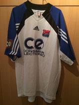 2001/2002 Bundesliga Away Spielertrikot von Dennis Grassow vorne