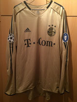 04/05 Champions League away Spielertrikot von Julio dos Santos vorne