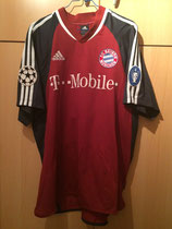 02/03 Champions League home Spielertrikot von Michael Ballack vorne