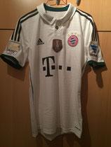 13/14 Bundesliga away Spielertrikot von Thiago Alcántara vorne