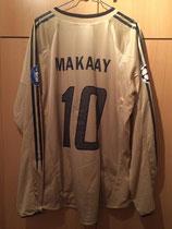 05/06 Champions League away Spielertrikot von Roy Makaay hinten