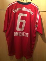 03/04 Bundesliga Derby Spielertrikot von Martin Demichelis hinten