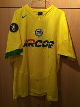 2005/2006 UEFA Cup Away Spielertrikot von Marcelinho vorne