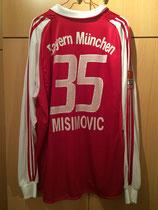 03/04 Bundesliga home Spielertrikot von Zvjezdan Misimović hinten
