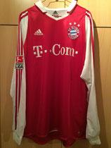 04/05 Bundesliga home Spielertrikot von Willy Sagnol vorne
