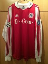 03/04 Champions League home Spielertrikot von Martin Demichelis vorne