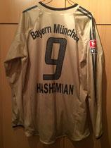 04/05 Bundesliga away Spielertrikot von Vahid Haschemian hinten