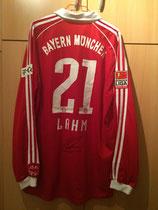 06/07 Bundesliga home Spielertrikot von Philipp Lahm hinten