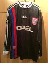 97/98 Champions League away Spielertrikot von Lothar Matthäus vorne
