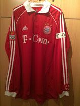 06/07 Bundesliga home Spielertrikot von Philipp Lahm vorne