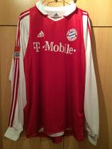03/04 Bundesliga home Spielertrikot von Christian Lell vorne