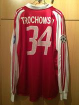 03/04 Champions League home Spielertrikot von Piotr Trochowski hinten