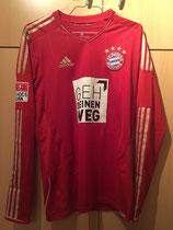 12/13 Bundesliga home Spielertrikot GEH DEINEN WEG von Bastian Schweinsteiger vorne