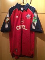 99/00 Bundesliga home Bewerbung WM 2006 Spielertrikot von Michael Tarnat vorne