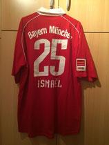 05/06 Premiere Ligapokal Spielertrikot von Valerien Ismael hinten