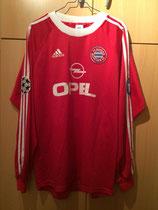 00/01 Champions League Spielertrikot von Michael Wiesinger vorne
