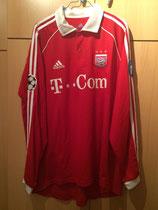 05/06 Champions League home Spielertrikot von Paolo Guerrero vorne