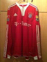 09/10 Bundesliga home Spielertrikot von Mario Gomez vorne