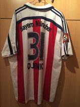 00/01 Bundesliga away Spielertrikot von Petar Djenic hinten