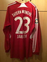 07/08 DFB Pokalfinale Spielertrikot von Marcel Jansen hinten