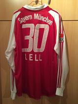 03/04 Bundesliga home Spielertrikot von Christian Lell hinten