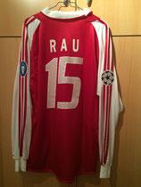 04/05 Champions League home Spielertrikot von Tobias Rau hinten