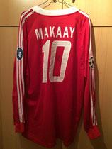 04/05 Champions League Spielertrikot von Roy Makaay hinten