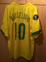 2005/2006 UEFA Cup Away Spielertrikot von Marcelinho hinten