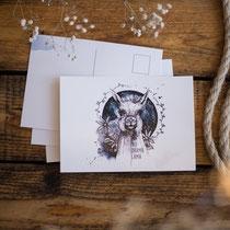 postkarte_lama