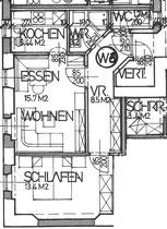 Wohnung 6 - 48,00 m2