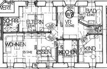 Wohnung 7 - 77,00 m2